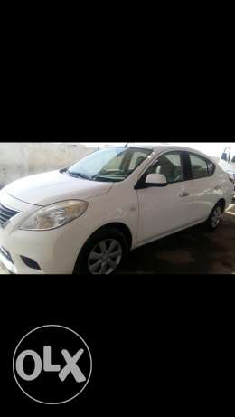 Nissan sunny 2013 new shape excellent condition