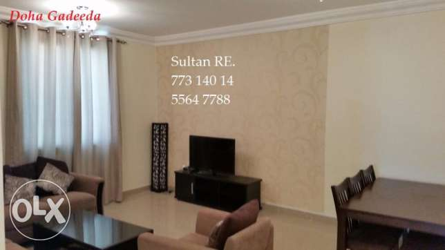Furnished 2bedrooms doha al gadida + One Month Free