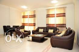 {Elegant} 3-Bedroom Fully-Furnished Flat in -Bin Mahmoud-
