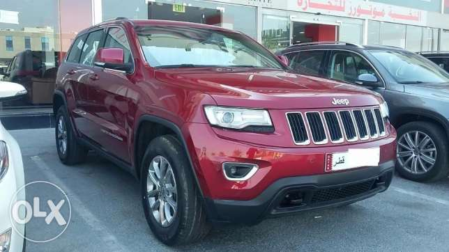 Brand New Jeeb - Grand Cherokee Laredo - 3600 CC Model 2015 الدوحة الجديدة -  3