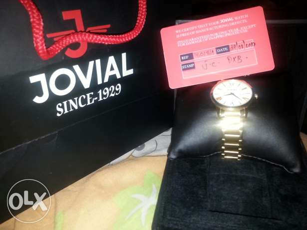 Jovial watch for sale.