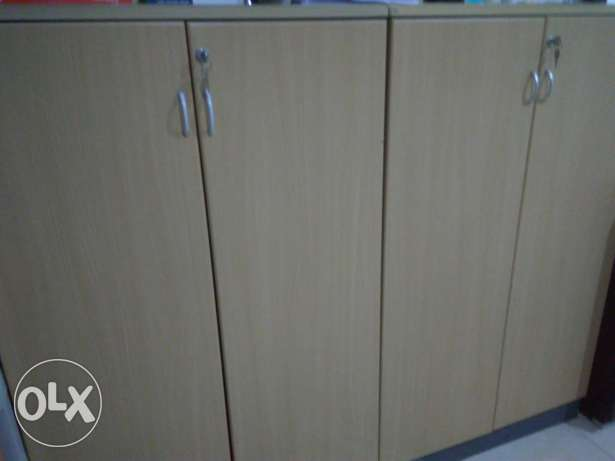 Two Wooden Cabinets 150 for each