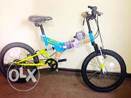 Folding bike Brand new 20' dual suspension, 6 speed
