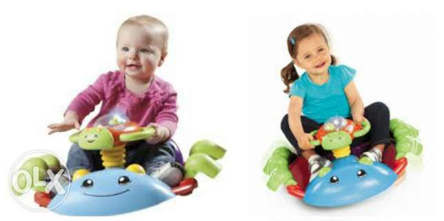 Toy bug bouncer