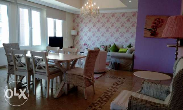 Amazing 3br+maid fully furnished full marina