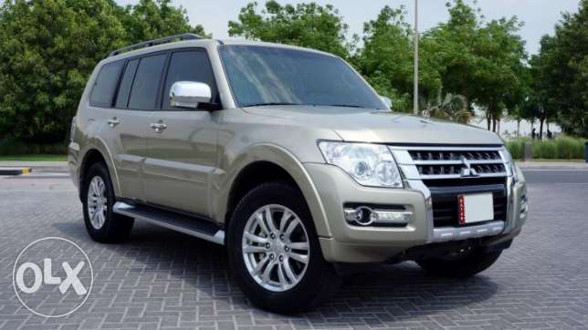 Mitsubishi Pajero 2016 3.8L,V6 , 5 Door Full Option with sunroof