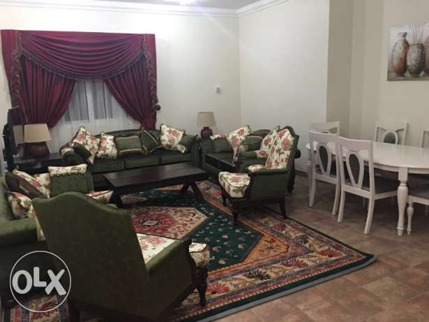ly furnished 2 bhk flat in al NASSR included water very nice flat
