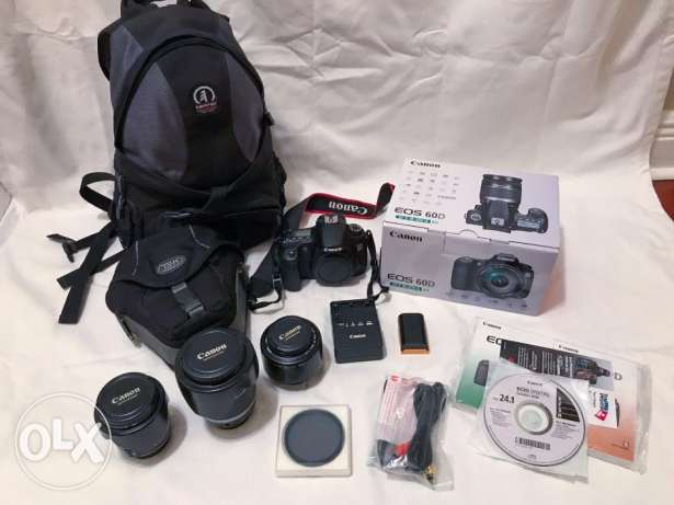 Canon EOS 60D 20MP Digital SLR Camera