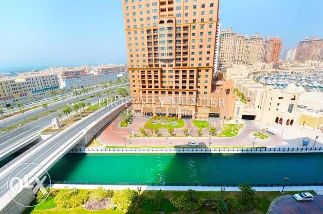 2 Bed Apartment with Canal & Marina View الؤلؤة -قطر -  7