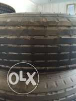 Toyota Land Cruiser 5 rims and balloon tyre for sale