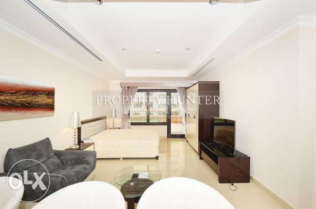 Extraordinary Furnished Studio with Kempinski views
