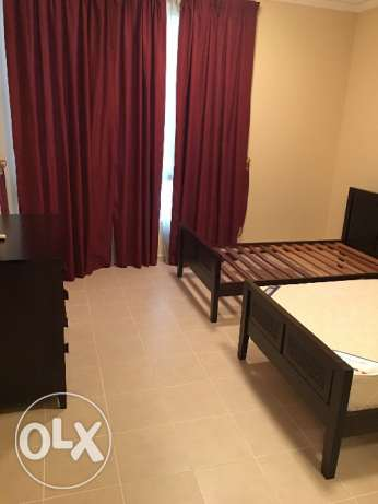 Luxury flat 2BR compund 7,850QR full Faslties and FullFunsherd فريج بن محمود -  2