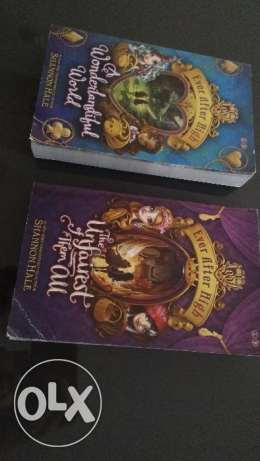 Two Ever After High books in good condition
