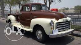 GMC C100 Classic model 1951, one of the unique classic chic cars