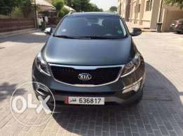 Lady driven KIA Sportage Top End Model