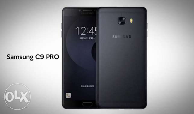 Latest samsung c9 pro black with 6gb ram