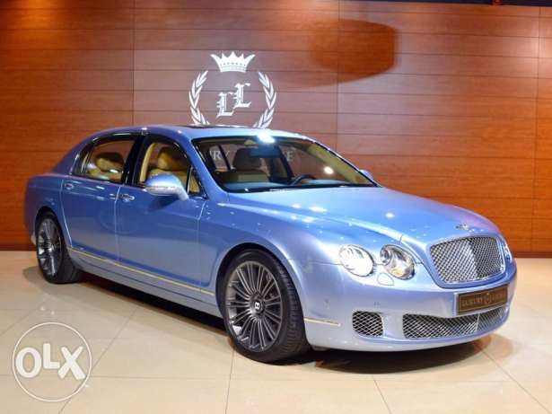 2012 Bentley Flying Spur W12 Speed Mulliner, GCC Specs (Rear Tables)
