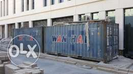 2x pc Used containers For Sale, Good Prices !