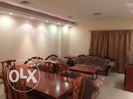 3 bedroom fully furnished flat in al Sadd