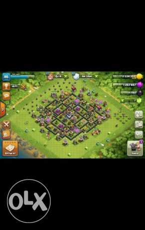 كلاش اوف كلانس تون 9 clash of clans town 9