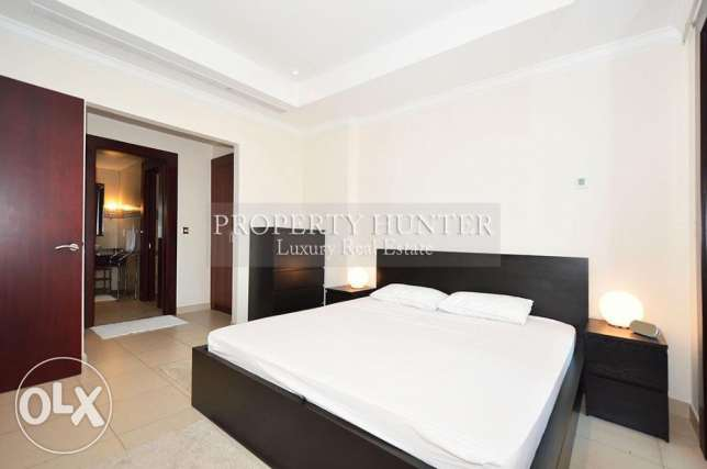 One Bed Residence with Complete Furnitures الؤلؤة -قطر -  6