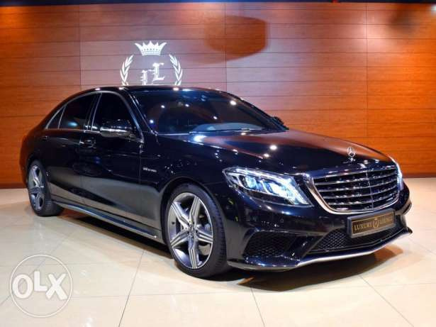 2014 Mercedes Benz S63 AMG, GCC Specs, Under Warranty till Feb, 2019