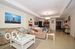 One bedroom furnished apartment with tremendous views