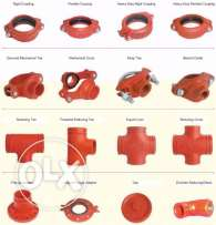 MI, GI, CS, Grooved fittings & Sandblasting grits for Sale