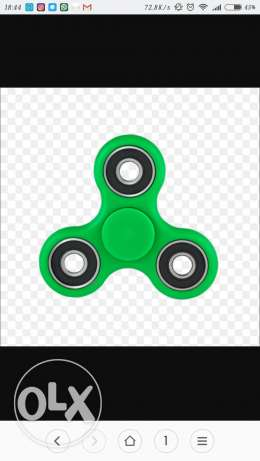 Spinners available