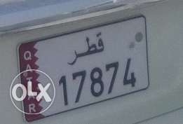 17874 Plate Number For Sale