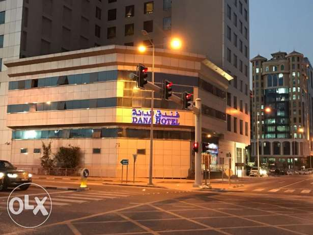 Bed space available in Dana Hotel at QAR 50 per day for a month