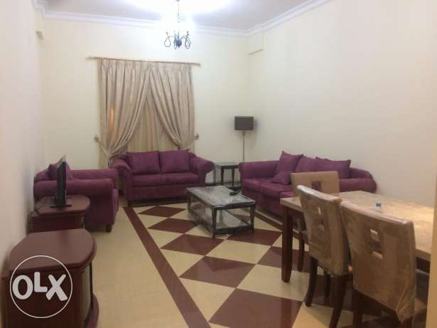3BHK flat in al-sadd FF & UF inside building swim.pool and gym