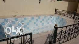 Villa for rent in AL waab with private swimming pool