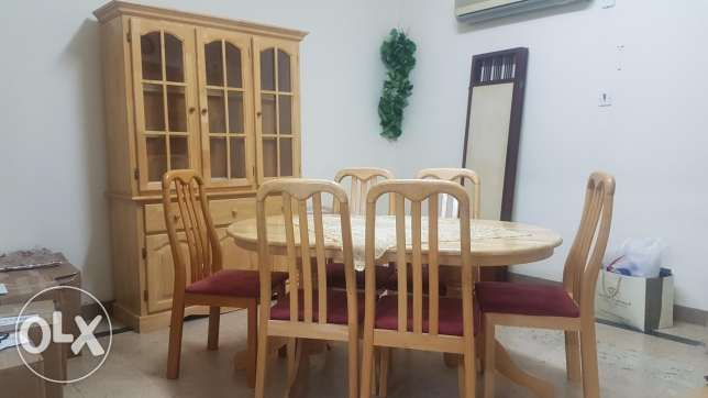 Dining Table + Buffet For Sale