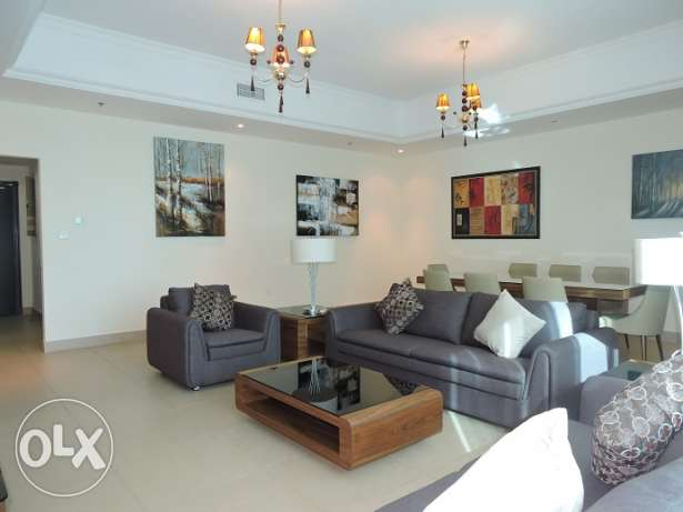 3-Bedroom Fully Furnished Apartment in Westbay