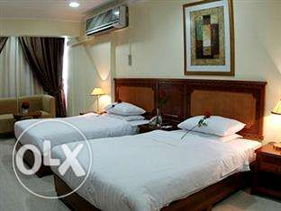 weekly rent fully furnished rooms in the hotel