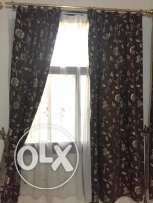 Curtains with ALL fittings