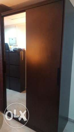 Selling a wardrobe with mirror (two doors), IKEA, 2.1/1.2/55