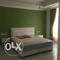 fully firnished one bed room near sana signal