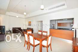 Fully furnished 3 Bed apartment in Developed Tower