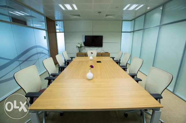 In the Heart of Doha Furnished Offices for Lowest Rent