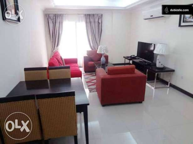 Brand New Furniture 3-BR Flat in AL Nasr+Free Month