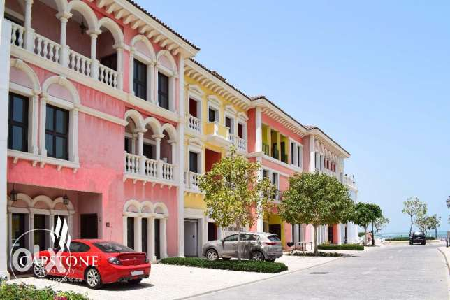 FREE 1 MONTH - The Pearl Qanat Quartier Townhouse + Beach Access