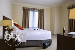 F/F 1/Bedroom Flat -{The Pearl Qatar}-