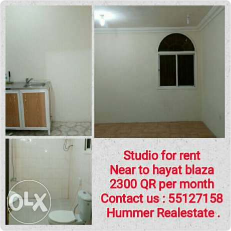 Studio for rent Near Aspire