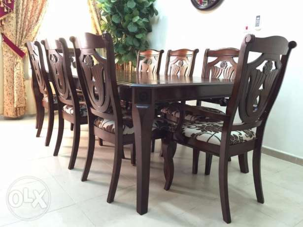 MULEX Dining Set [Table & 8 chairs] and Buffet سيت مكون من طاولة و ثما