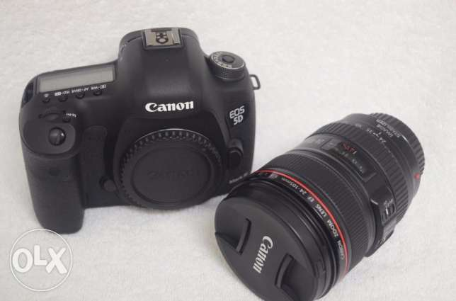 Complete canon 5D mark 3 camera kit
