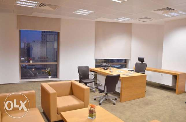 Fully Furnished and Prestigious Office Space for Rent الدوحة الجديدة -  1