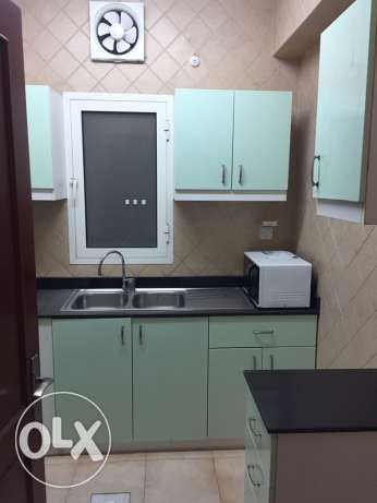 Fully furnished 2 BR flat in al Sadd
