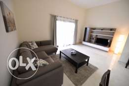 Facing the pool Brand new 1BD apartment with open kitchen in Lusail